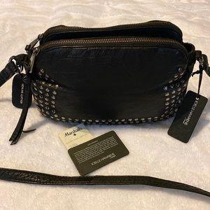 Joelle Hawkens by Treesje Studded Leather Crossbody Bag
